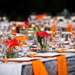 interesting-design-of-the-architectural-table-decoration-that-can-be-decor-with-white-table-cover-and-also-orange-napkin-folding-inside-the-modern-dining-room-design-ideas1